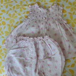 Dress + pants Jacadi 3 / 6 months